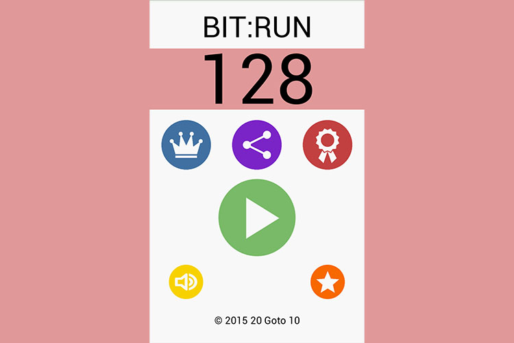 Bit:Run in-game Screenshot