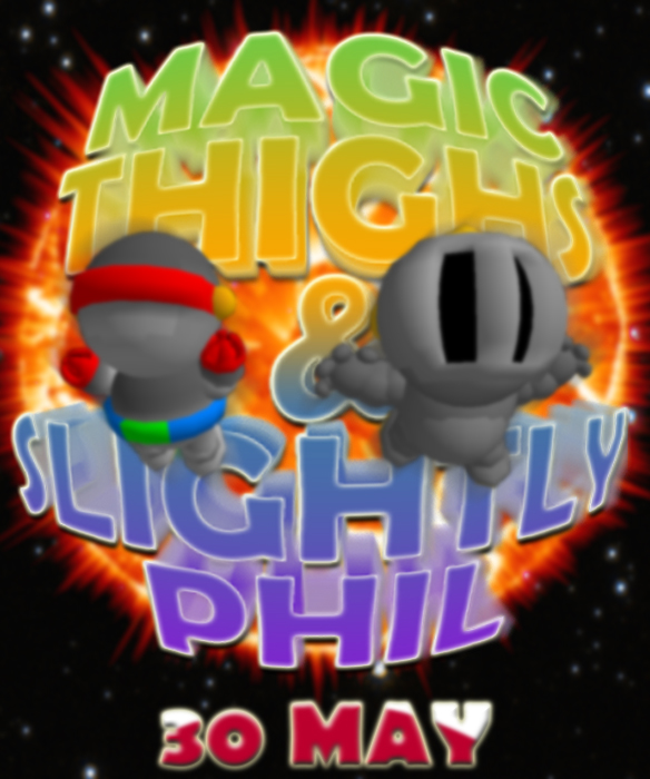 Magic Thighs Box Art